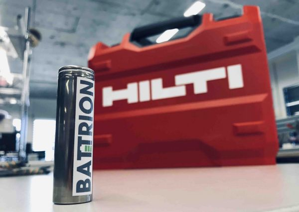 Battrion and Hilti present new battery cells