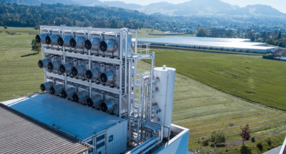 Climeworks develops technology that can capture CO2 from the air.