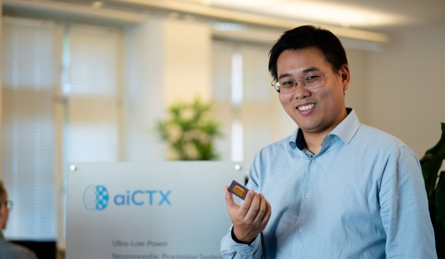Portrait of aiCTX CEO and co-founder Ning Qiao (aiCTX)