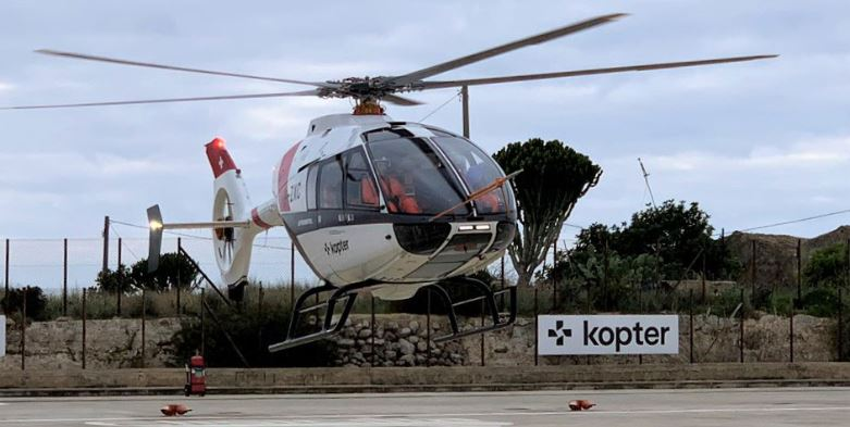 Kopter has equipped its SH09 helicopter prototype with new rotor blades. This will be the final optimization measure before entering production.