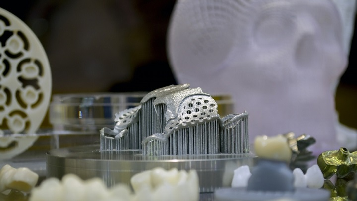 Image: Jaw implant from the 3D printer