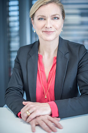 Nicole Burth, CEO of Adecco Group Switzerland