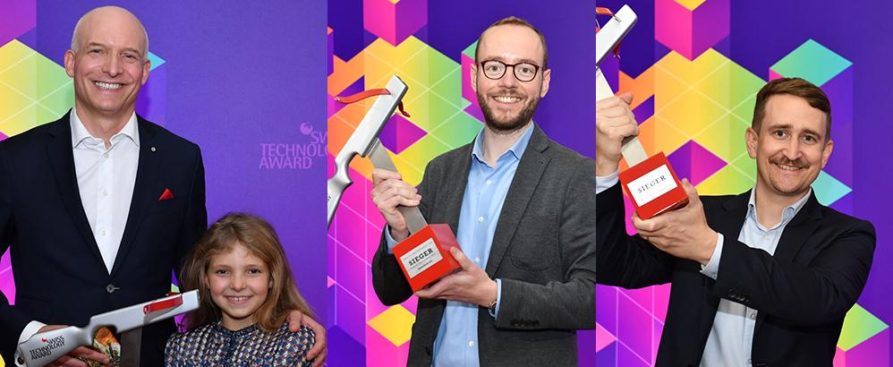 ETH spin-offs shine at Swiss Technology Award