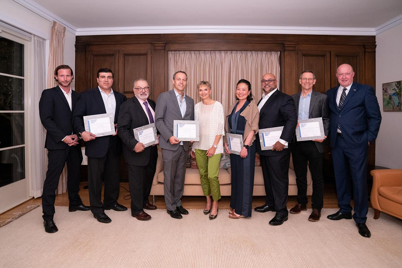 Greater Zurich Honorary Ambassadors award ceremony in San Francisco in October 2019
