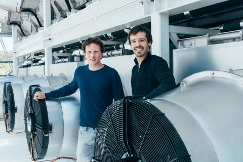 Founders of Climeworks from Greater Zurich