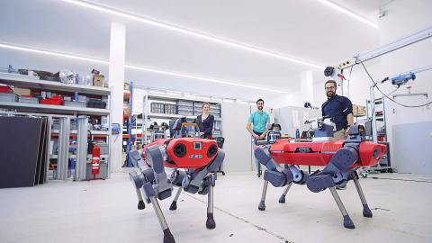 Greater Zurich start-up ANYbotics announces a successful Series A financing round